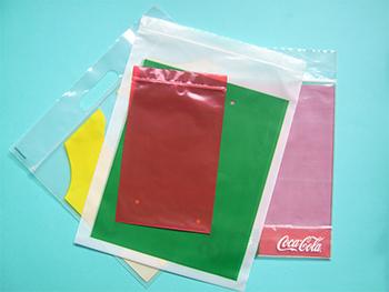 Uw plastic zak met ritssluiting in 4 kleuren bedrukt - hersluitbare-plastic-zakje.nl