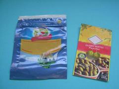 Plastic zak met ritssluiting voor de levensmiddelindistrie - hersluitbare-plastic-zakje.nl
