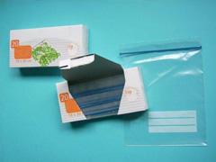 Drukt U Uw handelsmerk op het karton met de plastic diepvrieszakken met ritssluiting – hersluitbare-plastic-zakje.nl